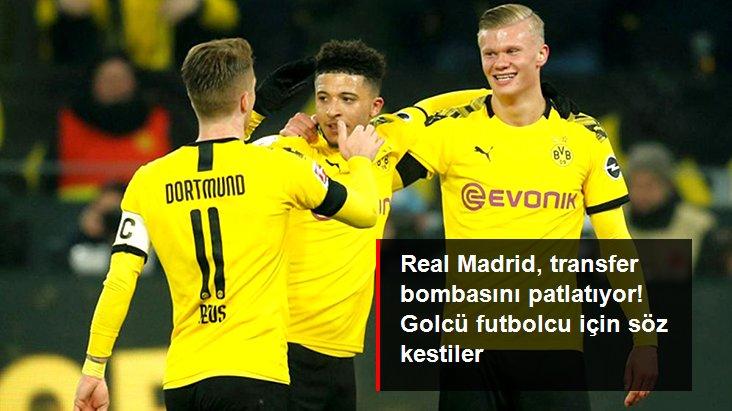 Real Madrid, Haaland için Borussia Dortmund ile Anlaşma Sağladı