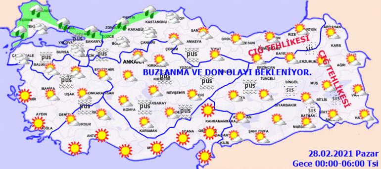 Meteoroloji İstanbul için saat verdi İşte son hava durumu raporu